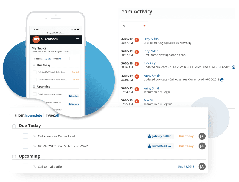 rei blackbook task management module