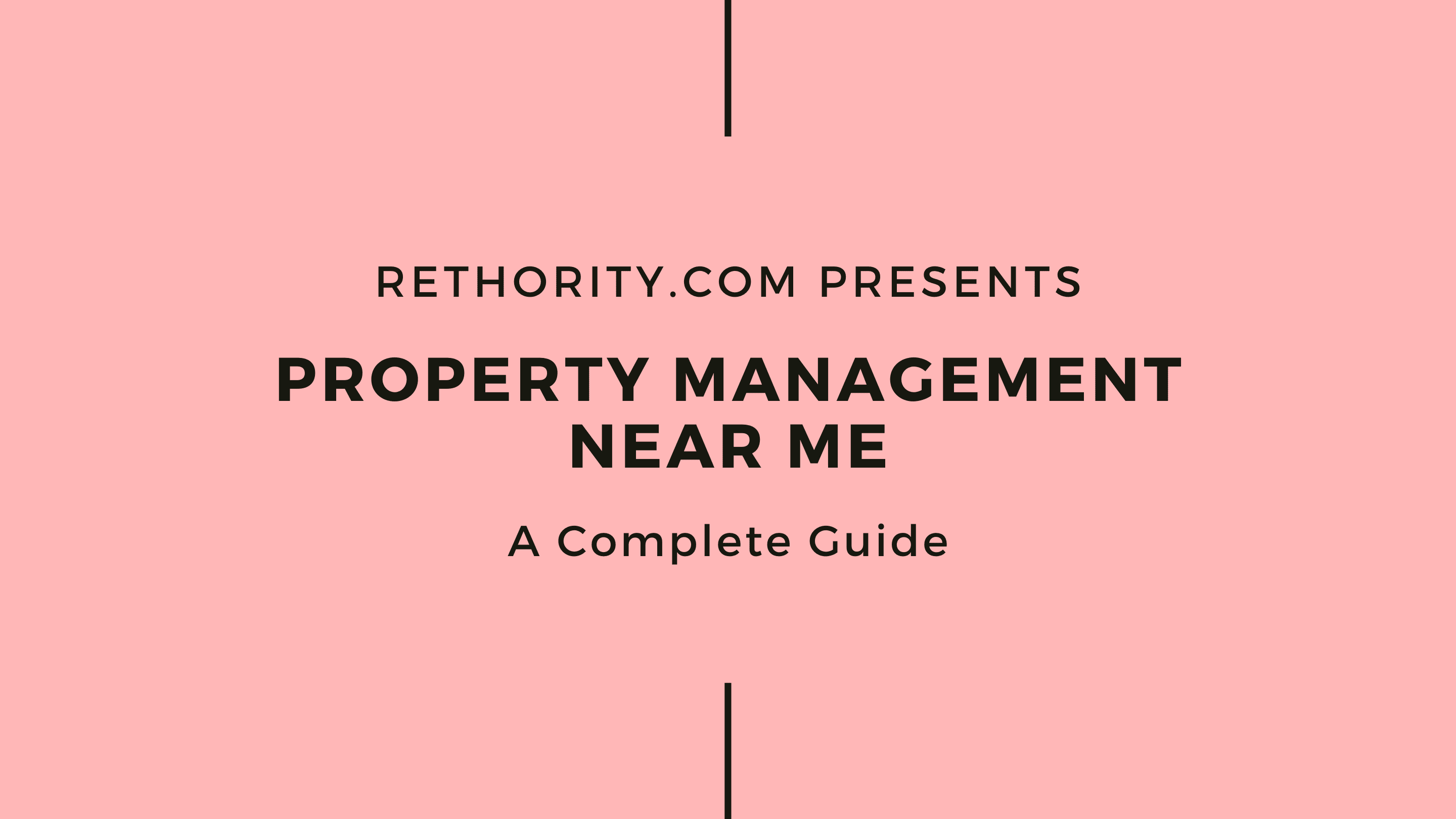 Property Management Near Me graphic against salmon background