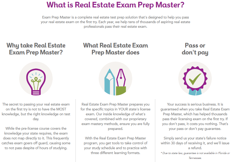 Real Estate Express exam prep master instead of taking a real estate cram course near you