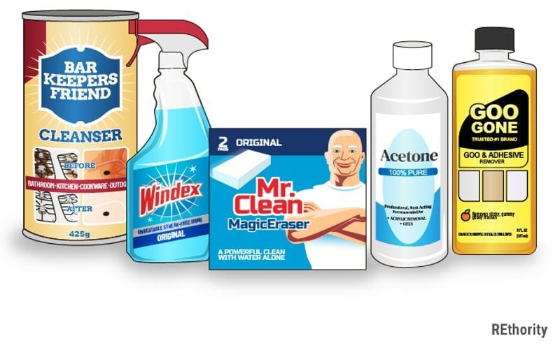 How to clean quartz countertops using common household cleaners